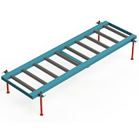 Hyperstat Roller Conveyor 2m